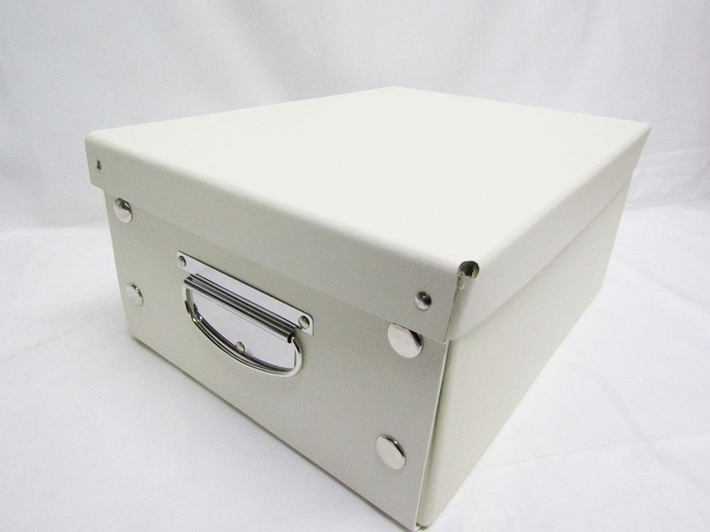 【送料無料35個セット】【ソニック】リビガク 簡単組み立て式 お勉強箱 LV-4150-I アイボリー