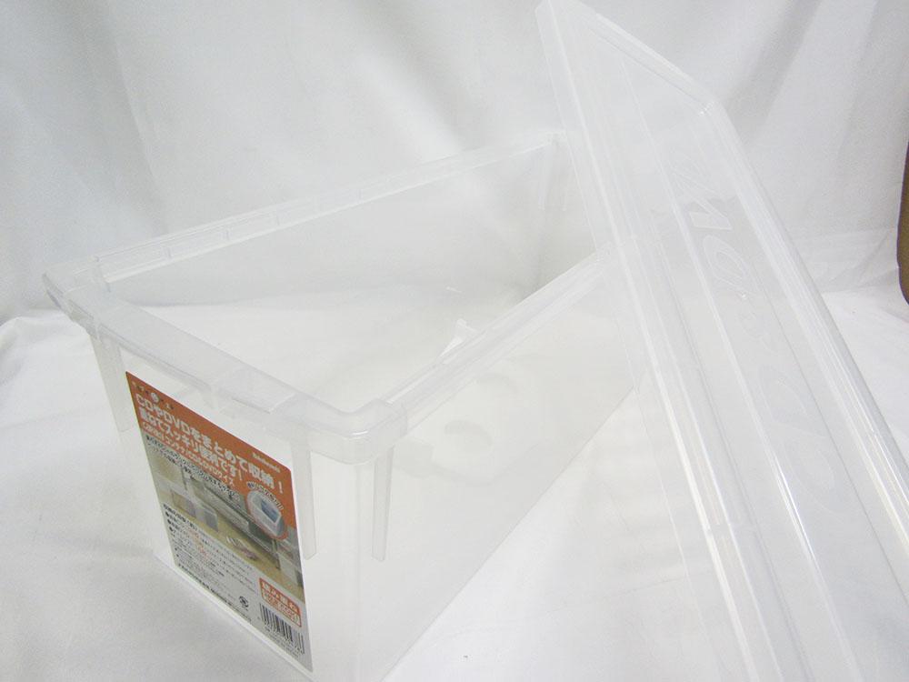 【送料無料25個セット】【ナカバヤシ】キャパティコンテナ CD&DVDサイズ CDC-101-CRN クリア