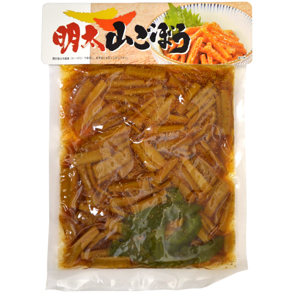 全国のお土産・手土産大集合 明太山ごぼう(270g)【のし・包装不可】 食品 食べ物