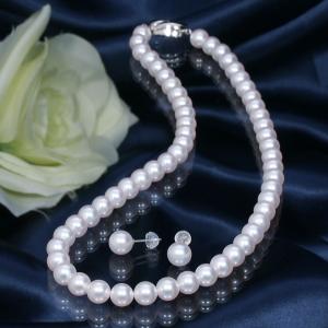 【おすすめフォーマル真珠】人気の高い真珠ジュエリーをご紹介! 高品質7mm珠「オーロラ花珠」あこや真珠ネックレス&ピアス