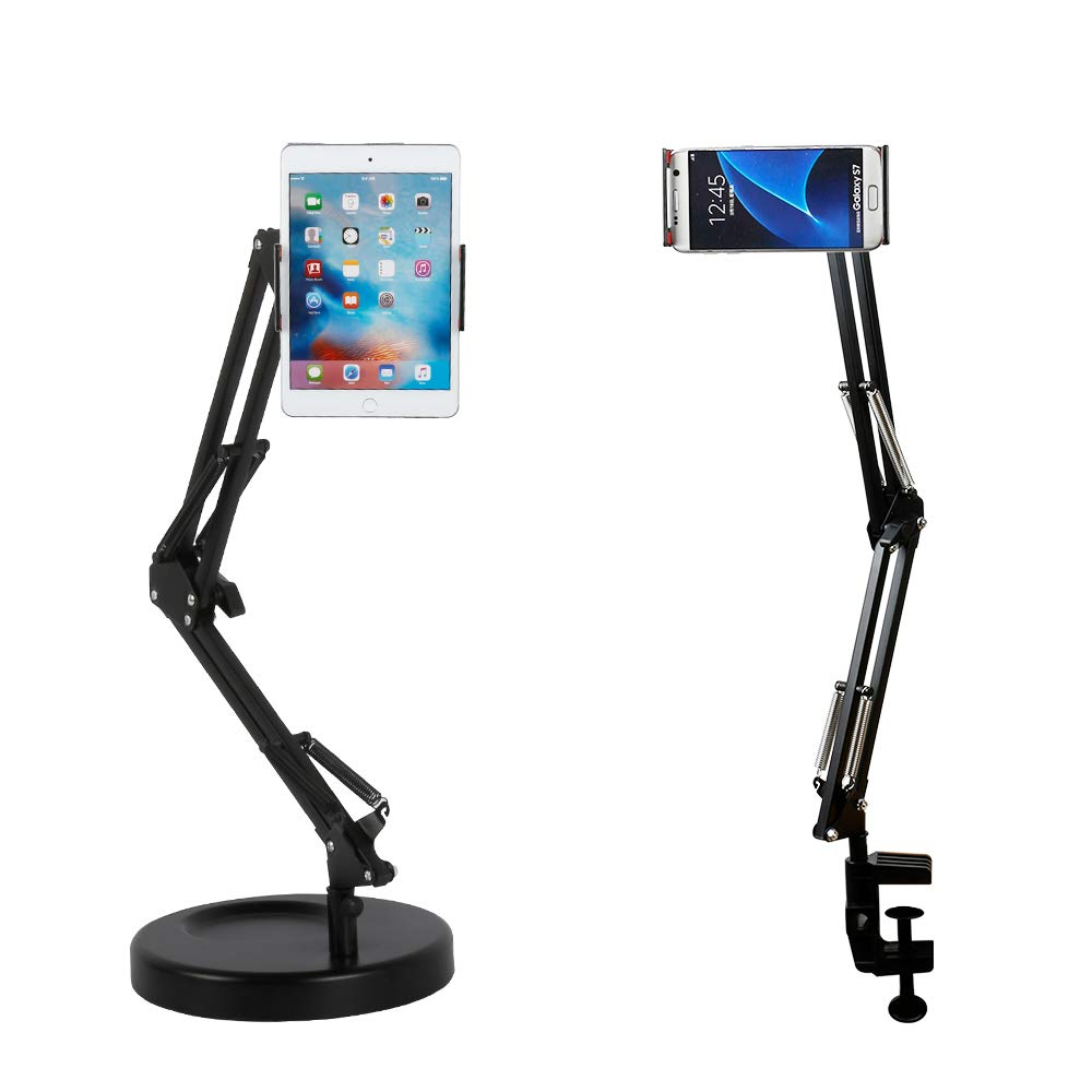 スタンド ホルダー 卓上スタンド 卓上ホルダー 高価値 期間限定 スマホタブレット両用 スマートフォン用 寝ながら スマホ オススメ 送料無料 タブレットスタンド スマートフォンスタンド タブレット用 スマホホルダー スマホスタンド 3か所回転 安定感抜群 便利スタンド 360度回転可能 スマホ用 タブレットホルダー 3.5~10.6インチ 折り畳み式
