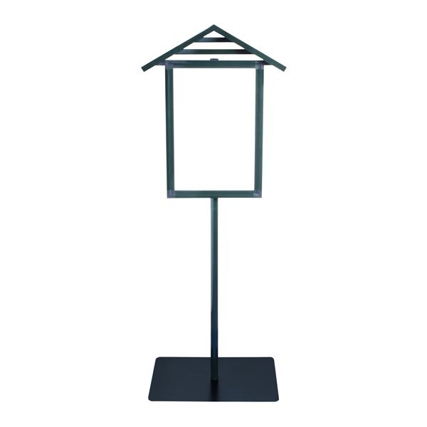 スタンド型 アルミアルミ 屋根付寺院表示板(青銅色) スタンド型, 御浜町:487ad08e --- coamelilla.com