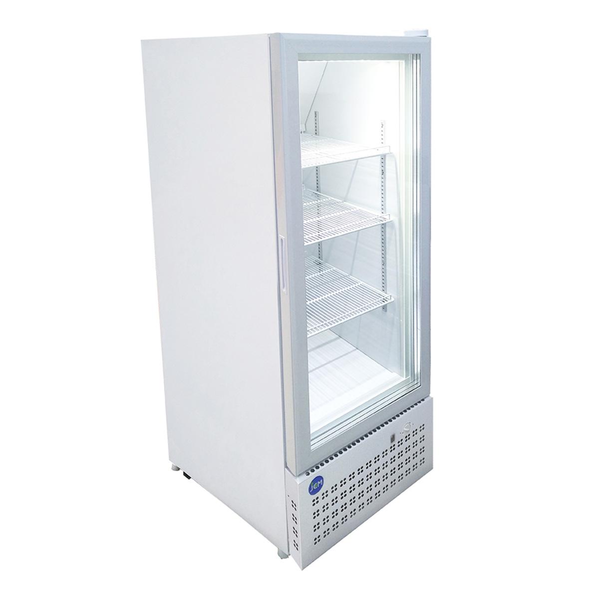 JCM タテ型冷凍ショーケース JCMCS-283H 283L 業務用 冷凍 冷凍庫 保冷庫 ショーケース 【代引不可】