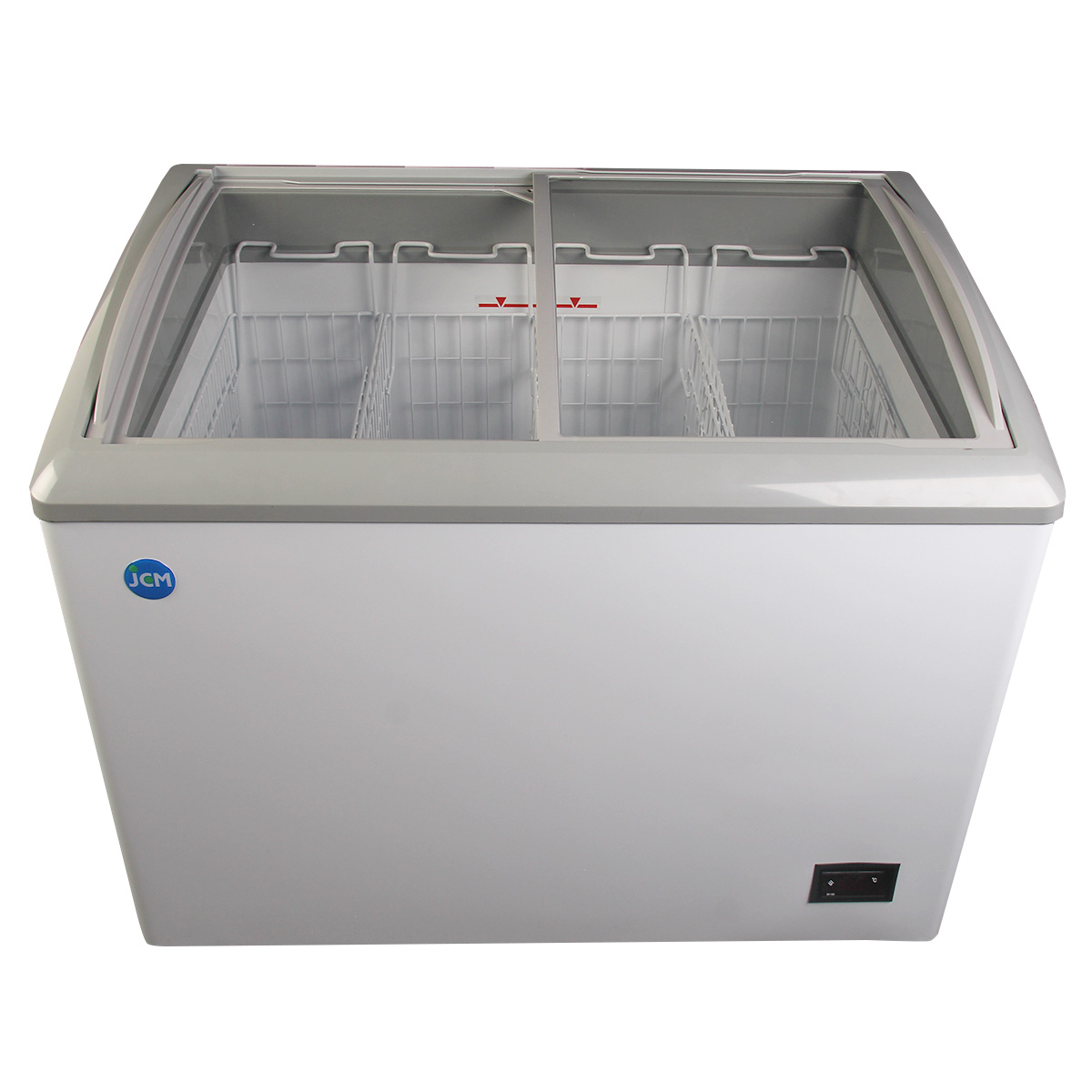 JCM 冷凍ショーケース JCMCS-180 業務用 冷凍 冷凍庫 保冷庫 ショーケース スライド 【代引不可】