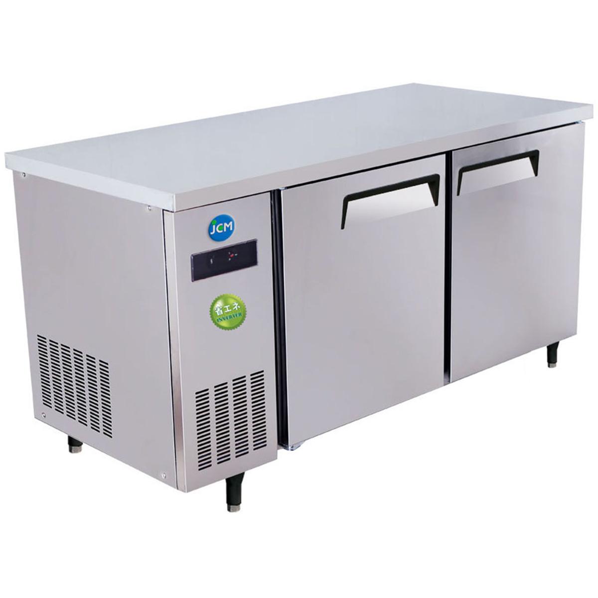 JCM ヨコ型 冷蔵庫 JCMR-1275T-I 業務用 冷蔵 コールドテーブル 台下 省エネ 【代引不可】