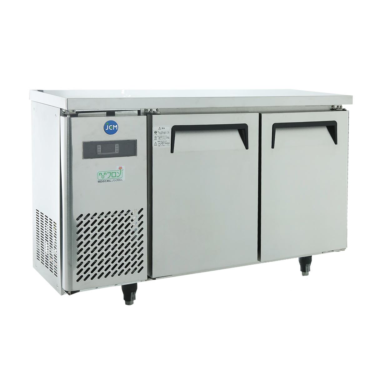 JCM ヨコ型 冷蔵庫 JCMR-1245T 業務用 冷蔵 コールドテーブル 台下 省エネ 【代引不可】