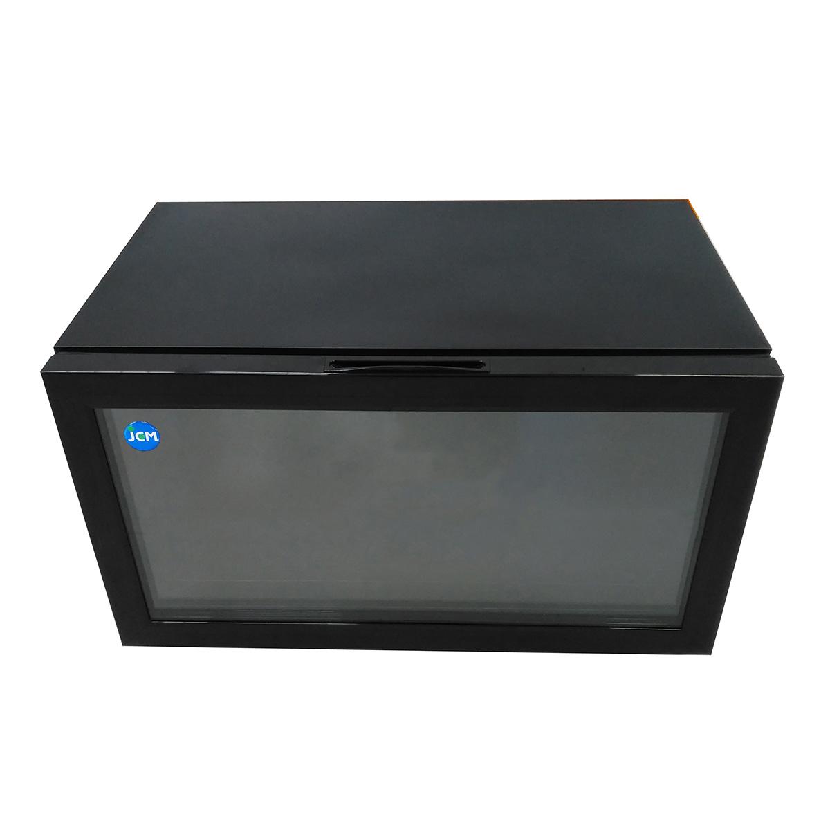 JCM 卓上型冷蔵ショーケース JCMS-36 36L 業務用 冷蔵 保冷庫 ショーケース 卓上型 【代引不可】