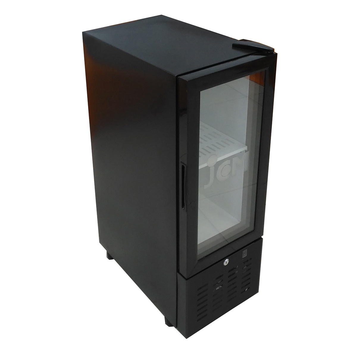 JCM 卓上型冷蔵ショーケース JCMS-47 47L 業務用 冷蔵 保冷庫 ショーケース 卓上型 LED 【代引不可】