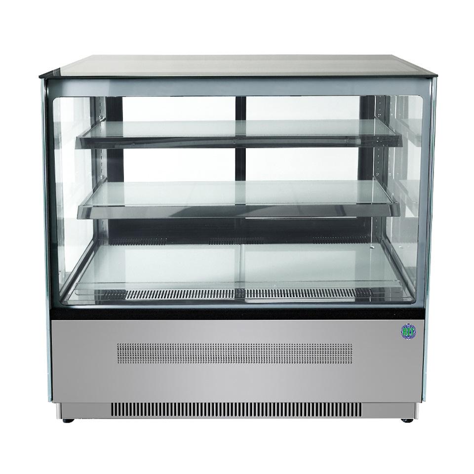 RIT 対面冷蔵ショーケース(角型) RITS-202T 冷蔵 冷蔵庫 保冷庫 ショーケース【代引不可】