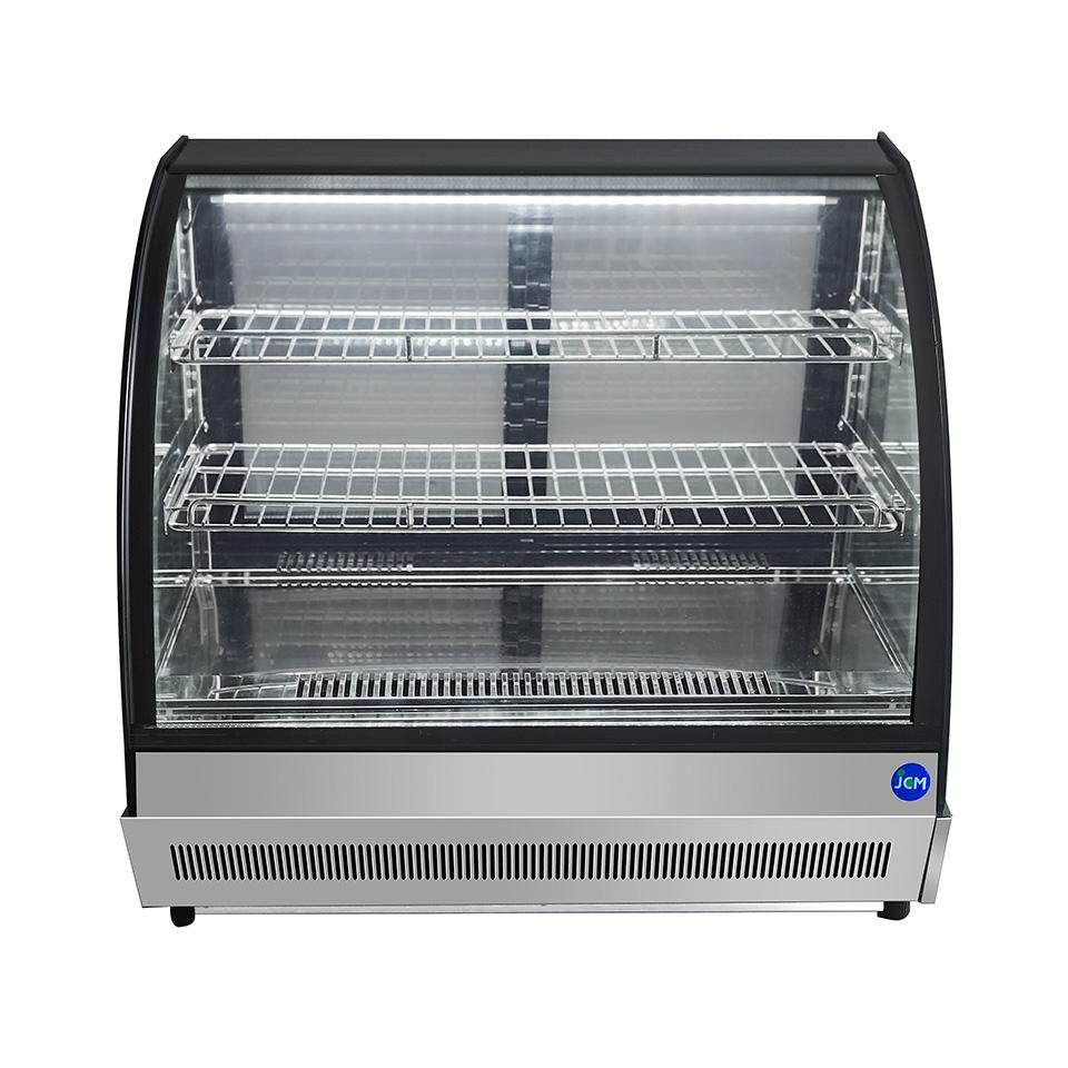 JCM 卓上型対面冷蔵ショーケース(ラウンド型) JCMS-46T 冷蔵 冷蔵庫 保冷庫 ショーケース【代引不可】