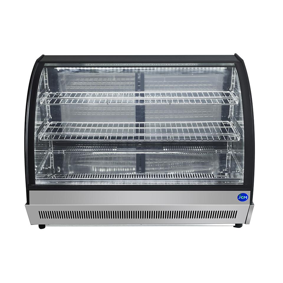 JCM 卓上型対面冷蔵ショーケース(ラウンド型) JCMS-60T 冷蔵 冷蔵庫 保冷庫 ショーケース【代引不可】