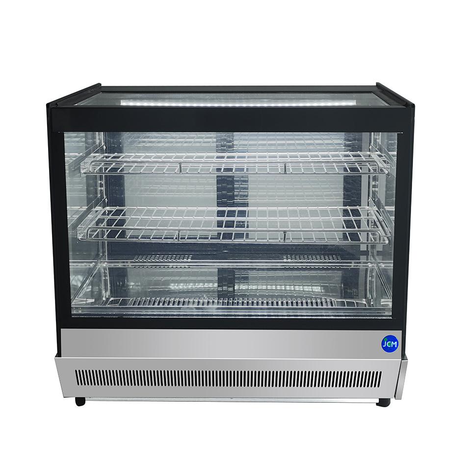 JCM 卓上型対面冷蔵ショーケース(角型) JCMS-53T 冷蔵 冷蔵庫 保冷庫 ショーケース【代引不可】