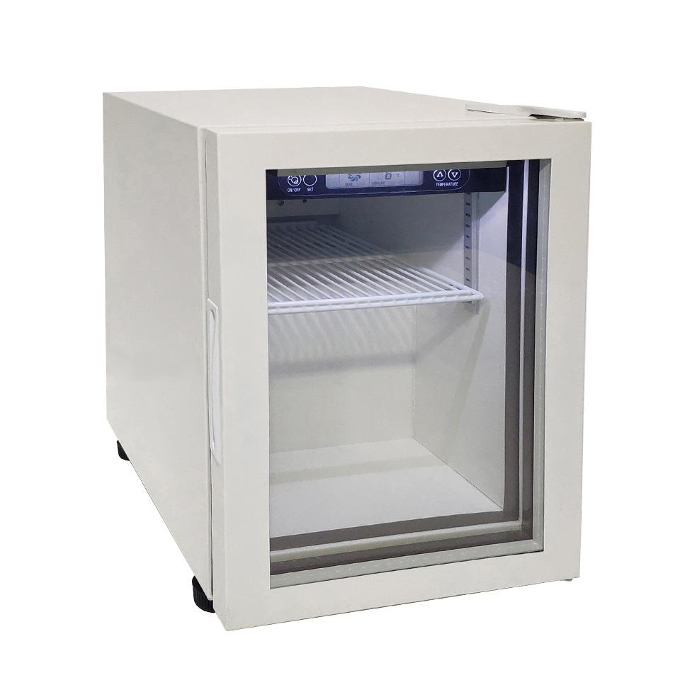 JCM 卓上型冷蔵ショーケース JCMS-26 26L 冷蔵 冷蔵庫 保冷庫 ショーケース【代引不可】