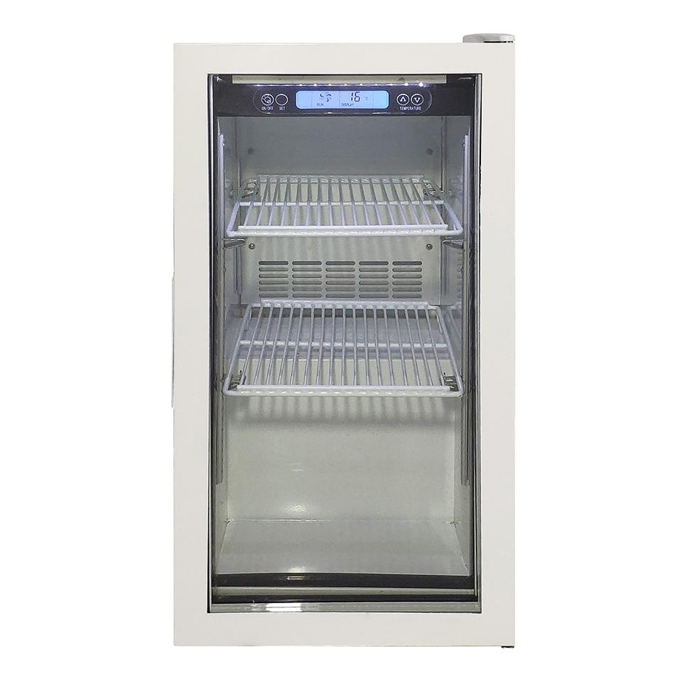 JCM 卓上型冷蔵ショーケース JCMS-46 46L 冷蔵 冷蔵庫 保冷庫 ショーケース【代引不可】