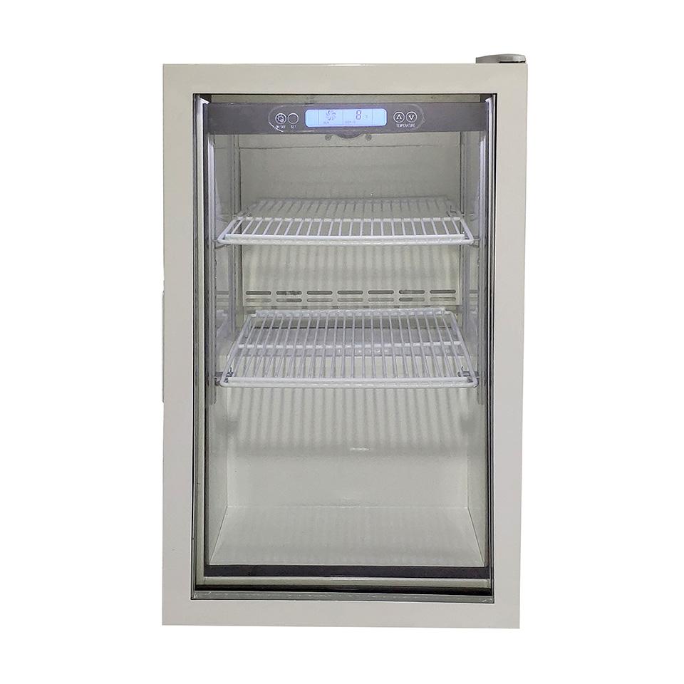 JCM 卓上型冷蔵ショーケース JCMS-66 66L 冷蔵 冷蔵庫 保冷庫 ショーケース【代引不可】