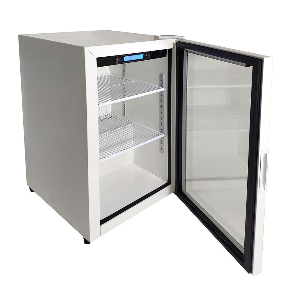 JCM 卓上型冷蔵ショーケース JCMS-96 96L 冷蔵 冷蔵庫 保冷庫 ショーケース【代引不可】