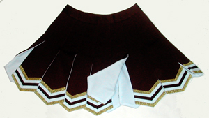チアガールのスカート チアリーディング スカート12フライ ア 税込 流行 ウェイ 大決算セール 1着の注文可能 送料込