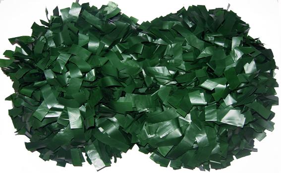 国際ブランド ☆¥2 000 税込 両手分2個で送料無料☆軽くてやわらかプロ仕様プラスチックチアポン☆1個は片手分です 高校野球のスタンド応援に使用されています チアリーダー 単色プラスチック 人気海外一番 深緑 バトンポンポン