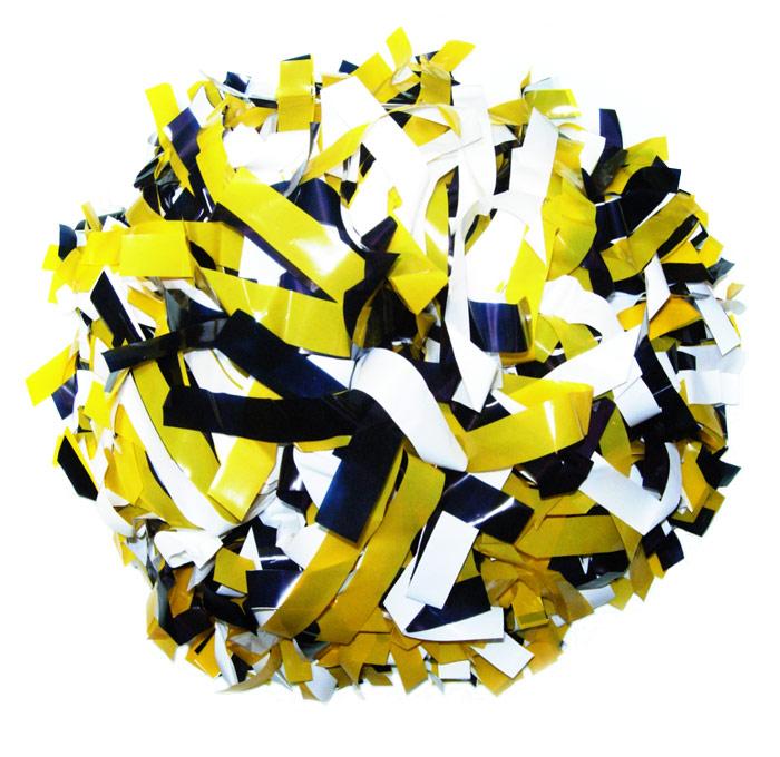 3色ミックスポンポンプロ仕様 チアガール☆¥2 000 送料無料カード決済可能 超人気 税込 1個片手分☆両手分2個から税込+送料無料☆丈夫なチアポン オーダーメイド メール便は使用できません チアポン バトン 3色ミックス