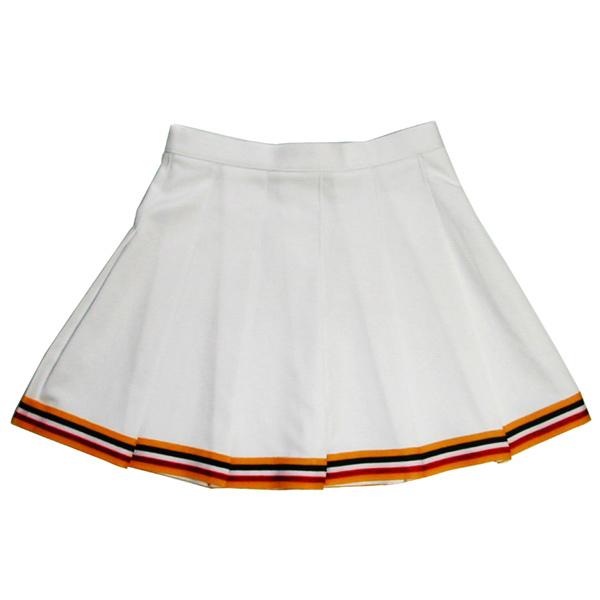 チアガール 未使用 プリーツスカート チアリーダースカート 追いヒダ 初売り 税込 送料込 1着の注文可能