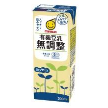 1ケース マルサンアイ 有機無調製豆乳 同梱不可 クリアランスsale 期間限定 200ml×24本 ギフト 送料無料