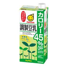 2ケース マルサンアイ 毎日がバーゲンセール 調製豆乳 カロリー45%オフ ×12本 送料無料 1000ml 同梱不可 スピード対応 全国送料無料