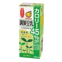 1ケース 公式サイト マルサンアイ 調製豆乳カロリー45%オフ 送料無料 激安価格と即納で通信販売 同梱不可 200ml×24本