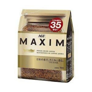 【1ケース】MAXIM アロマセレクト インスタントコーヒー 袋 (70g×24袋入り)【同梱不可】【送料無料】