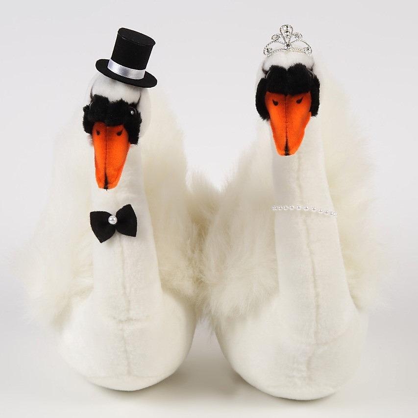 スワン プリンセス 白鳥のウェルカムドール(完成品)ギフト対応 ウェディングドール 結婚式受付 ギフト