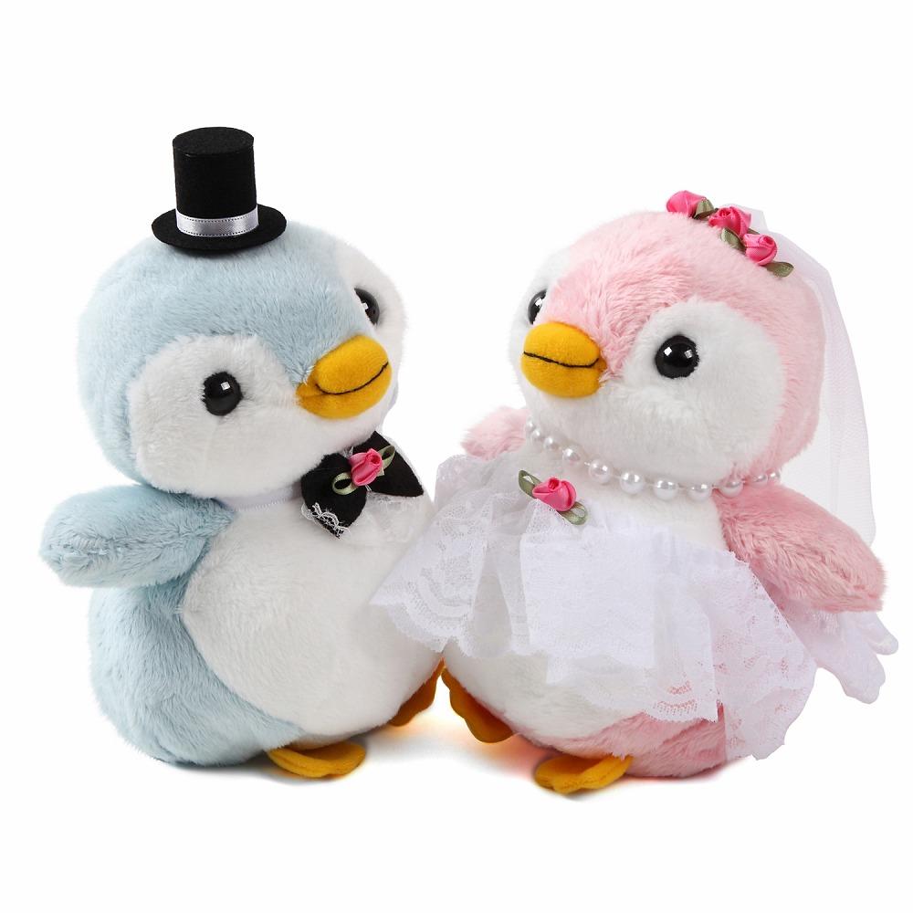 ペンギン ぬいぐるみ 人形 ウェルカムドール|結婚式ぬいぐるみ・パステルペンちゃん 高砂 受付 ドリンクスペース フォトブース 可愛い ユニーク 珍しい 結婚祝い ギフト ぺんぎん
