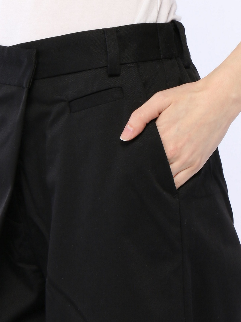 JEANASiS交叉奇诺宽大的裤子G梨子