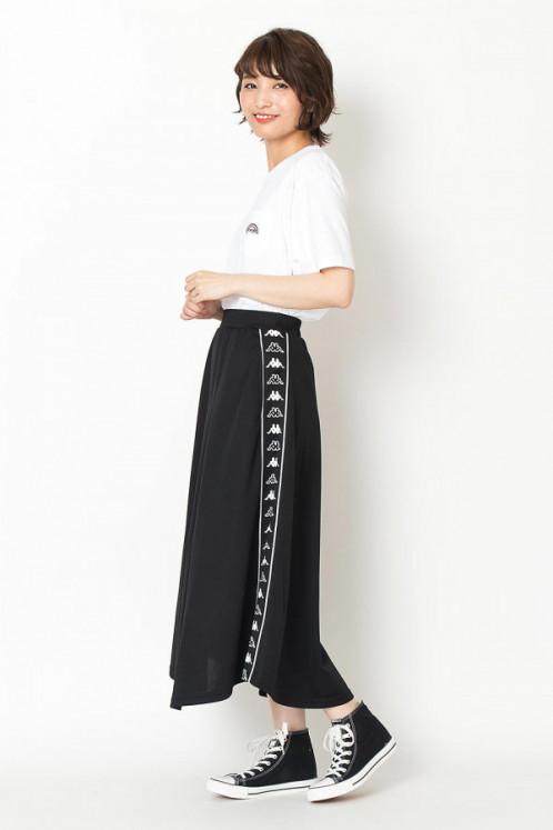 カッパー スカート(Kappa)サイドラインスカート:ジーンズメイト 店