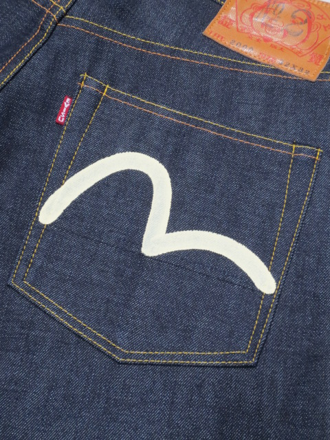 EVISU jeans EGD20002XKW Slim Straight jeans gull white Made in Japan No2 No2000