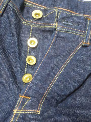STUDIO ZERO(零工作室)01z 震灾牛仔裤  普通直筒 一次水洗牛仔布   No 01 日本制造  14盎司 复古牛仔裤