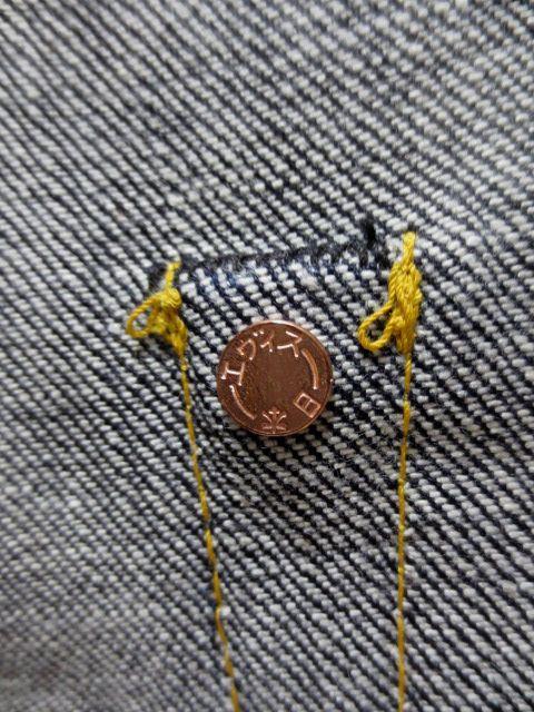 EVISU EGD20002XKR small straight カモメレッド paint No2 No2000EVISU, evisu, Evisu, Ebisu jeans points
