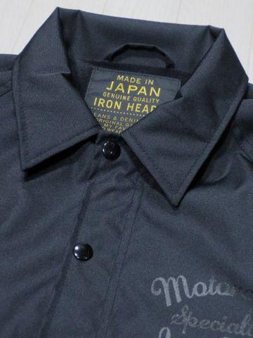 Iron Heart IHj12 heavy weight, super-thick Cordura nylon (cordura nylon) windbreaker made in Japan