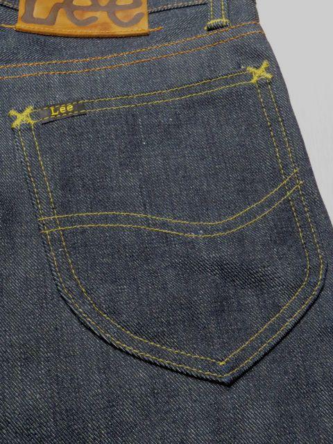 LEE 05101-89 101 52 Original Replica Vintage Jeans Zipper Type Made in Japan Do not Wash