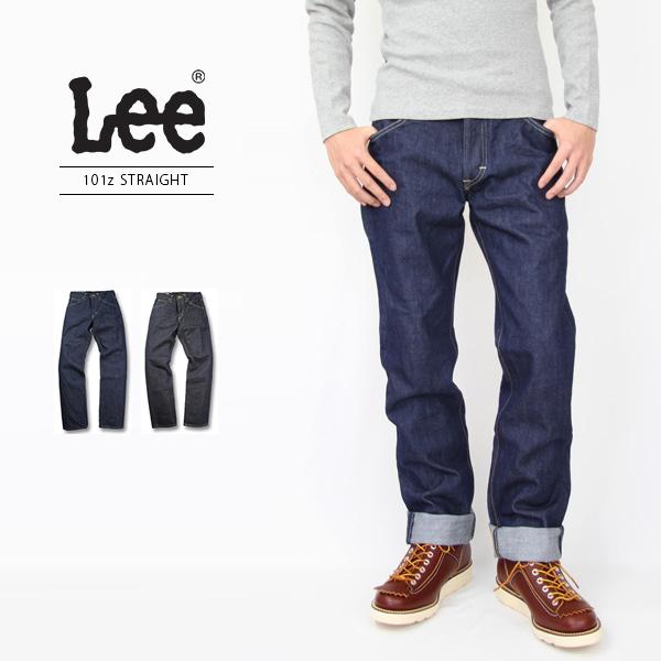 【送料無料】Lee リー/101Z AMERICAN RIDERS ストレートジーンズ 5ポケット ワンウォッシュ デニム 日本製/LM5101