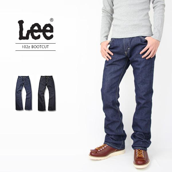 【送料無料】Lee リー/102Z AMERICAN RIDERS ブーツカット ジーンズ 5ポケット ワンウォッシュ デニム 日本製/LM5102