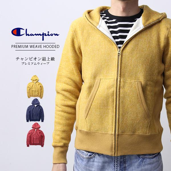 チャンピオン パーカー メンズ リバースウィーブ Champion パーカー メンズ ジップパーカー プレミアムウェーブ 日本製 C3-A129