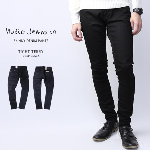 ヌーディージーンズ タイトテリー Nudie Jeans Tight Terry DEEP Tight Long John デニムパンツ Gパン イタリア製 レオン 雑誌 ブランド 112451