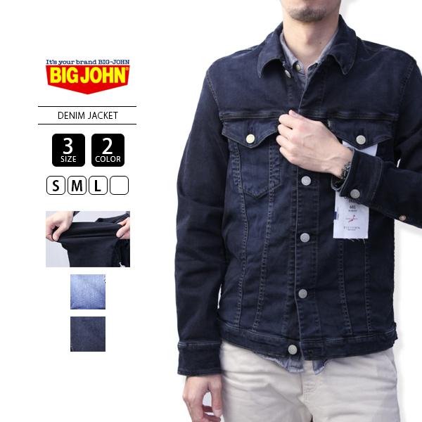 【送料無料】ビッグジョン BIG JOHN ジャケット デニムジャケット メンズ ブランド COMPLETE FREE DENIM JACKET BJM601F-1
