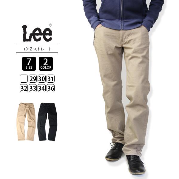 【送料無料】Lee チノパンツ メンズ リー ストレート AMERICAN RIDERS 101Z STRIGHT ツイル LM5101-2