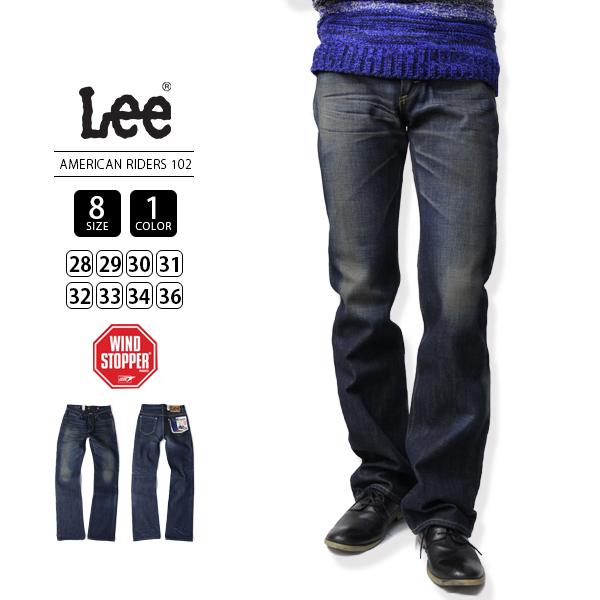 【送料無料】Lee ブーツカットジーンズ メンズ Lee アメリカンライダース リー ジーンズ AMERICAN RIDERS 102 LM4102-836