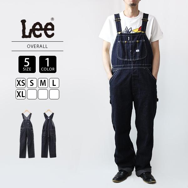 お裾直し無料 Lee リー オーバーオール メンズ WEB限定 送料無料 008-LM7254-2 定番 新商品 新型 デニム