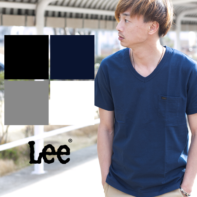 LEE Boys Big Short Sleeve V-Neck Shirt