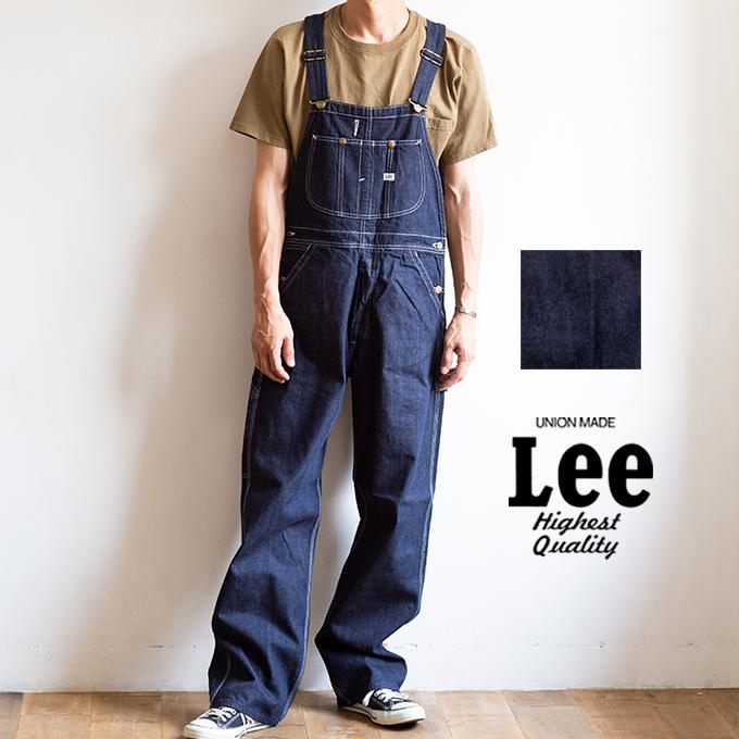【 Lee リー 】 ダンガリーズ デニム オーバーオール LM7254 / メンズ レディース ユニセックス ワークパンツ カジュアル ブランド ヴィンテージ ルーズシルエット アメカジ