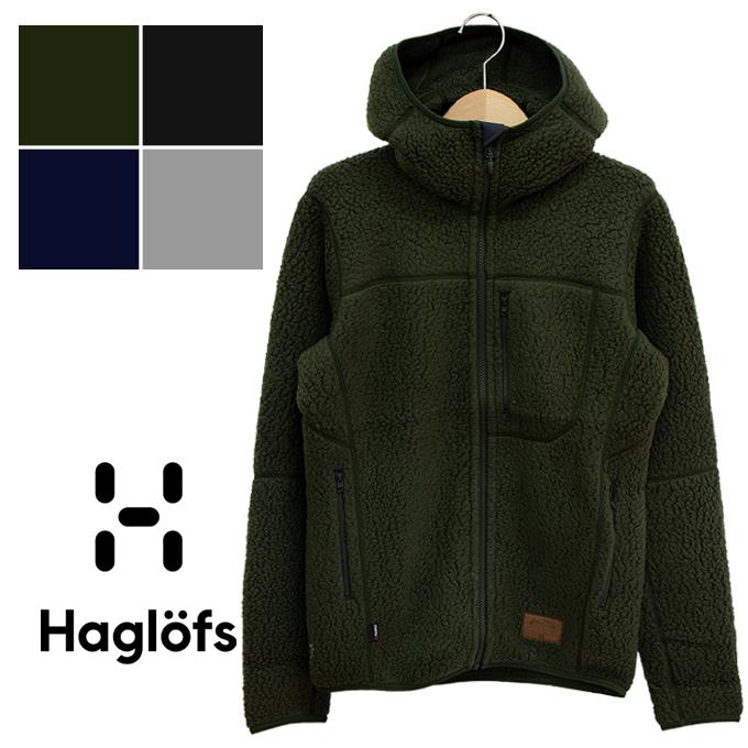 【 Haglofs ホグロフス 】 Pile Hood Men パイルフード ボア フリースパーカー 604137 / トップス 長袖 アウター ジャケット パーカー フーディー フード 防寒 暖か シンプル カジュアル アウトドア メンズ レディース ユニセックス haglofs ジャケット
