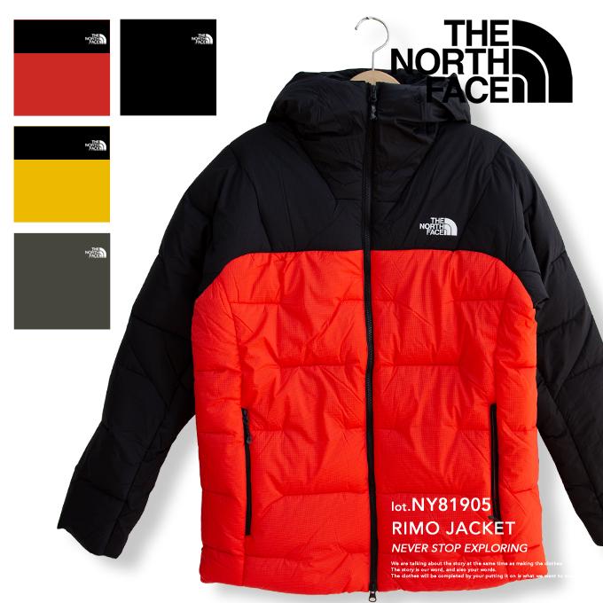 THE NORTH FACE ザノースフェイスRIMO Jacket ライモジャケット メンズNY81905ノースフェイス ダウン ノースフェイス アウター メンズ ノースフェイス 中綿 ジャケット ノースフェイス ライモジャケット アウター トップス 防寒fb6vmIY7gy
