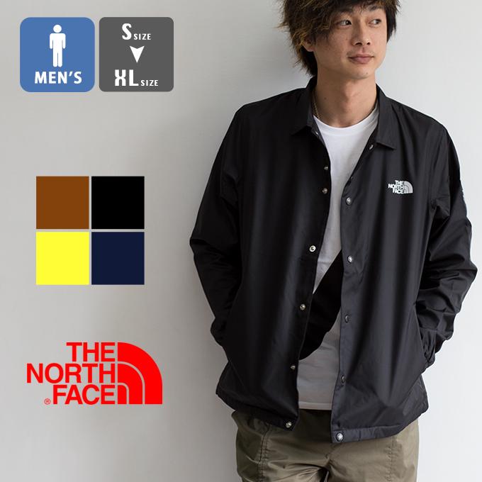 【 THE NORTH FACE ザノースフェイス 】 The Coach Jacket ザ コーチジャケット NP22030 / THE COACH JACKET ナイロンジャケット カバーオール ウインドブレーカー スクエアロゴ アウター アウトドア スナップボタン メンズ NP21836 20SS /